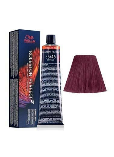 Wella Koleston Perfect Me+ Tüp Boya 60 Ml 55/46 Kırmızı Menekşe Renksiz